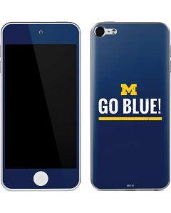 University of Michigan Go Blue Apple iPod Skin
