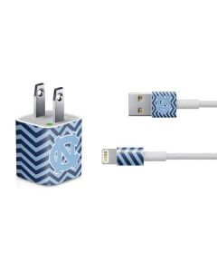 North Carolina Chevron Print iPhone Charger (5W USB) Skin