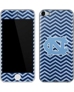 North Carolina Chevron Print Apple iPod Skin