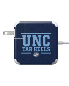 UNC Tar Heels 85W Power Adapter (15 and 17 inch MacBook Pro Charger) Skin