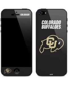 University of Colorado Buffaloes iPhone 5/5s/5SE Skin