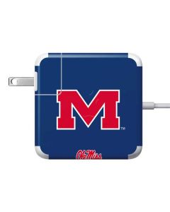 Ole Miss Logo 85W Power Adapter (15 and 17 inch MacBook Pro Charger) Skin