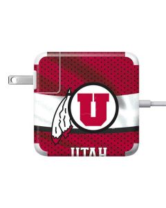 Utah Utes 85W Power Adapter (15 and 17 inch MacBook Pro Charger) Skin