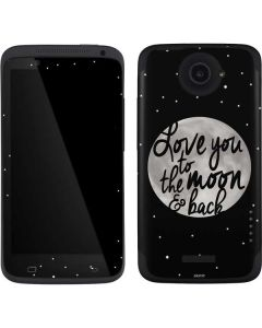 To The Moon And Back BW One X Skin