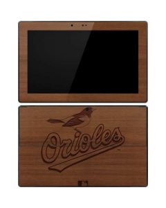 Baltimore Orioles Engraved Surface RT Skin