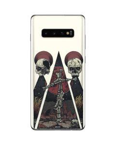 Skull Pyramid Galaxy S10 Plus Skin