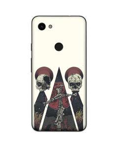 Skull Pyramid Google Pixel 3a Skin