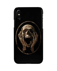 Skull Screaming iPhone XS Max Lite Case