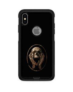 Skull Screaming Otterbox Commuter iPhone Skin