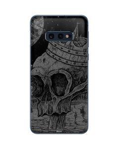 Skull Sketch Galaxy S10e Skin