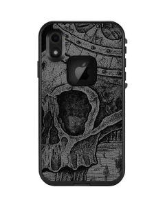Skull Sketch LifeProof Fre iPhone Skin