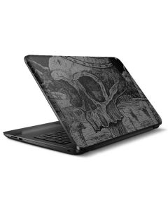 Skull Sketch HP Notebook Skin