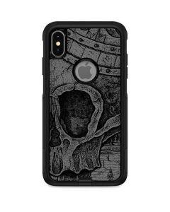 Skull Sketch Otterbox Commuter iPhone Skin