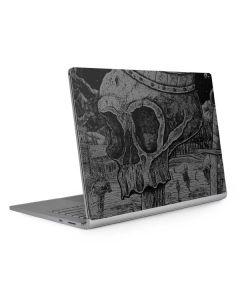 Skull Sketch Surface Book 2 15in Skin