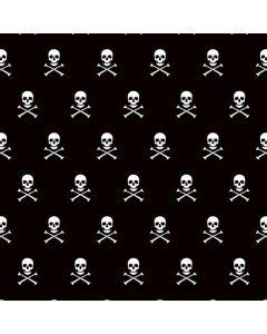 Skull and Crossbones (white) Generic Laptop Skin