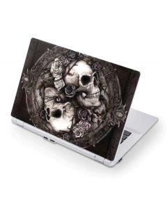 Skulls and Roses Acer Chromebook Skin