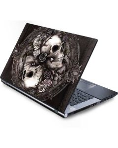 Skulls and Roses Generic Laptop Skin