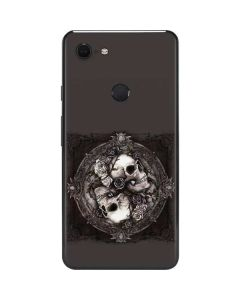 Skulls and Roses Google Pixel 3 XL Skin
