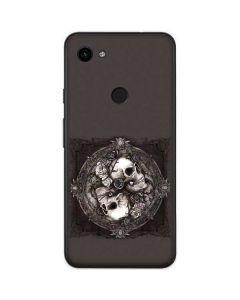 Skulls and Roses Google Pixel 3a Skin