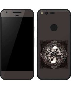 Skulls and Roses Google Pixel Skin