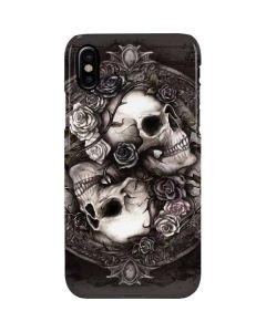 Skulls and Roses iPhone XS Max Lite Case