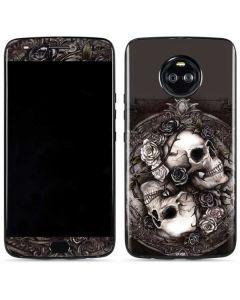 Skulls and Roses Moto X4 Skin