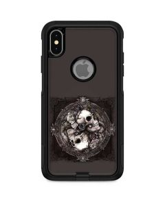 Skulls and Roses Otterbox Commuter iPhone Skin