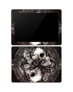 Skulls and Roses Surface Go Skin