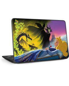 Sleeping Beauty and Maleficent HP Chromebook Skin
