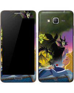 Sleeping Beauty and Maleficent Galaxy Grand Prime Skin