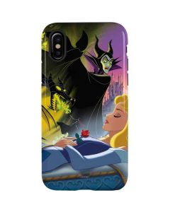 Sleeping Beauty and Maleficent iPhone X Pro Case