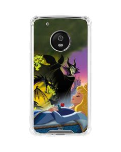 Sleeping Beauty and Maleficent Moto G5 Plus Clear Case