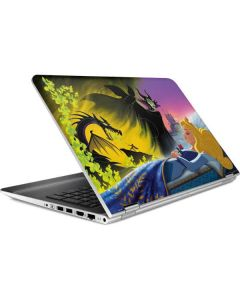 Sleeping Beauty and Maleficent HP Pavilion Skin