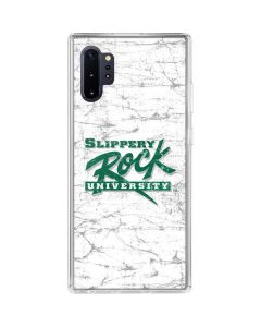 Slippery Rock Distressed Galaxy Note 10 Plus Clear Case