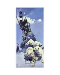Sliver Warrior Galaxy Note 10 Skin