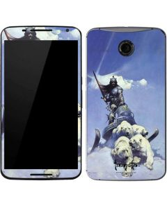 Sliver Warrior Google Nexus 6 Skin