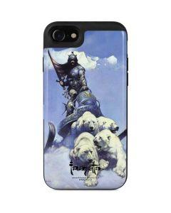 Sliver Warrior iPhone SE Wallet Case