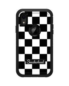 Sneakerhead Checkered Otterbox Defender iPhone Skin