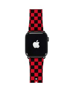Sneakerhead Red Checkered Apple Watch Band 42-44mm