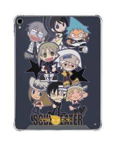 Soul Eater Characters iPad Pro 12.9in (2018-19) Clear Case