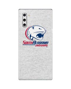 South Alabama Jaguars Heather Grey Galaxy Note 10 Skin