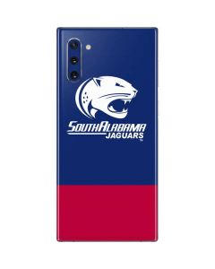 South Alabama Jaguars Split Galaxy Note 10 Skin
