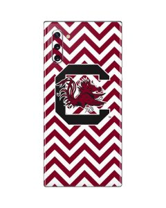 South Carolina Chevron Print Galaxy Note 10 Skin
