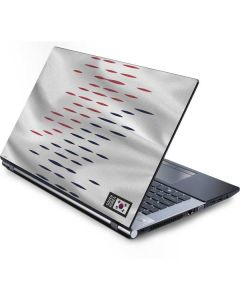 South Korea Soccer Flag Generic Laptop Skin