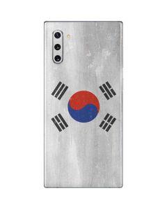 South Korean Flag Distressed Galaxy Note 10 Skin