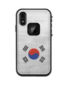 South Korean Flag Distressed LifeProof Fre iPhone Skin