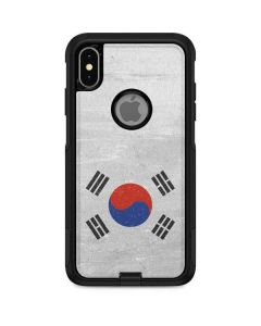 South Korean Flag Distressed Otterbox Commuter iPhone Skin