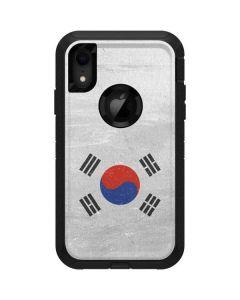 South Korean Flag Distressed Otterbox Defender iPhone Skin