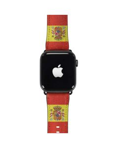 Spain Flag Distressed Apple Watch Case