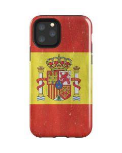 Spain Flag Distressed iPhone 11 Pro Impact Case